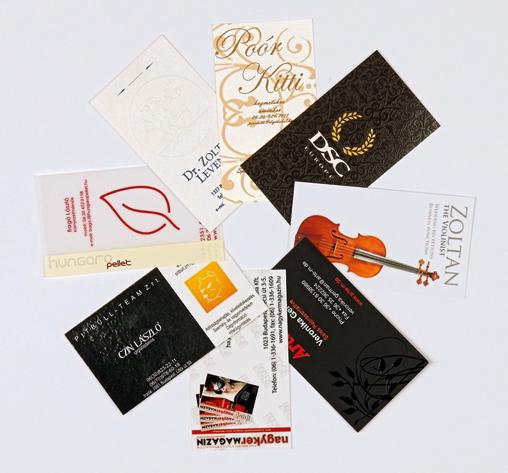 Névjegykártya készítés budapesti nyomdánál