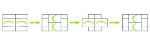 Öröknyitogató 2D, A5-ös méret - meglepetés Szórólap vázrajz
