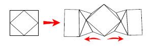 Gyémánt Kártya - meglepetés Szórólap vázrajz