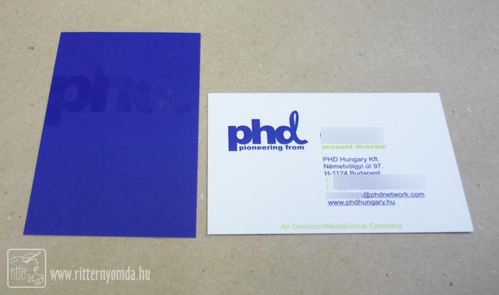 Offset printing business cards reheart Gallery