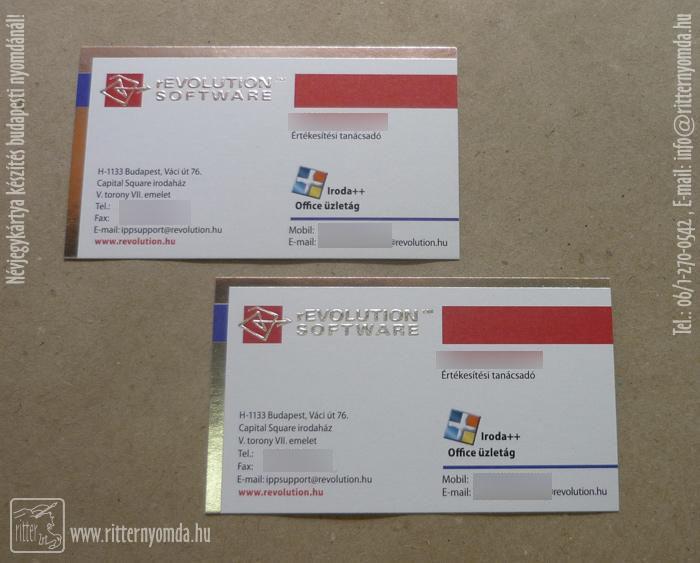 Digital Und Offsetdruck Visitenkarten