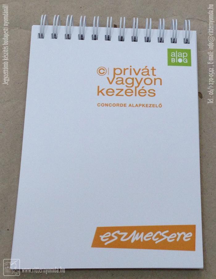 5ff97c1a44 Ofszet és digitális nyomtatás jegyzettömb, alapkezelő, vagyon, privát, a6