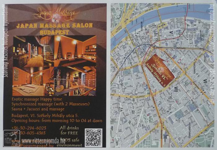masszázs térkép budapest szórólap, masszázs szalon, japán, térkép, qr kód, ázsiai, készítés  masszázs térkép budapest
