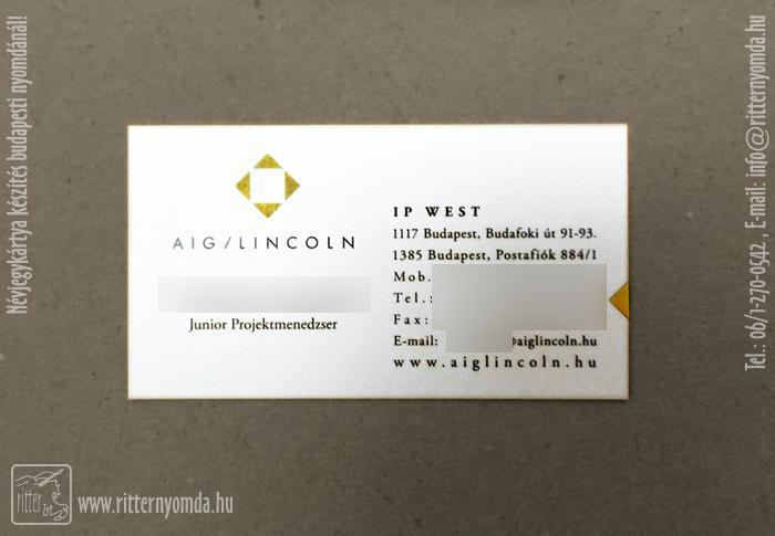 Offset printing business cards for Business card management