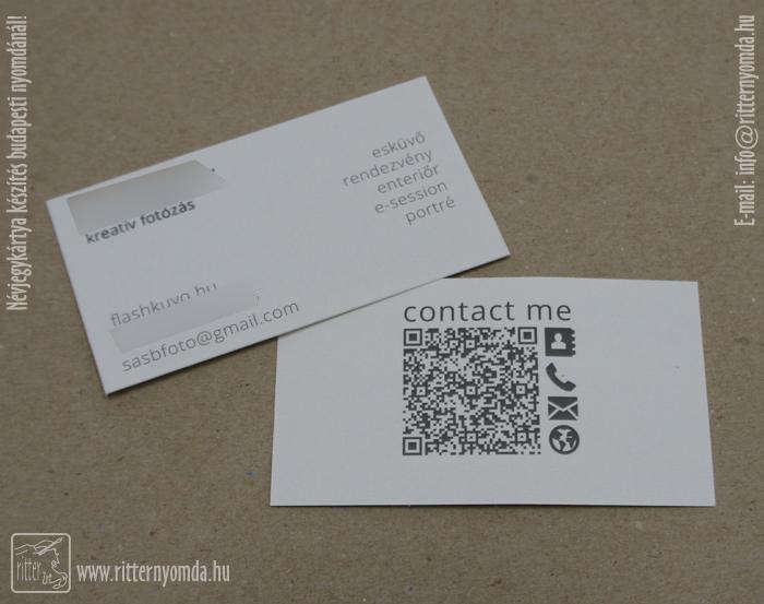 Digital Und Siebdruck Visitenkarten