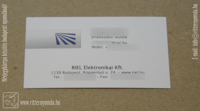 Digital printing business cards for Business card management