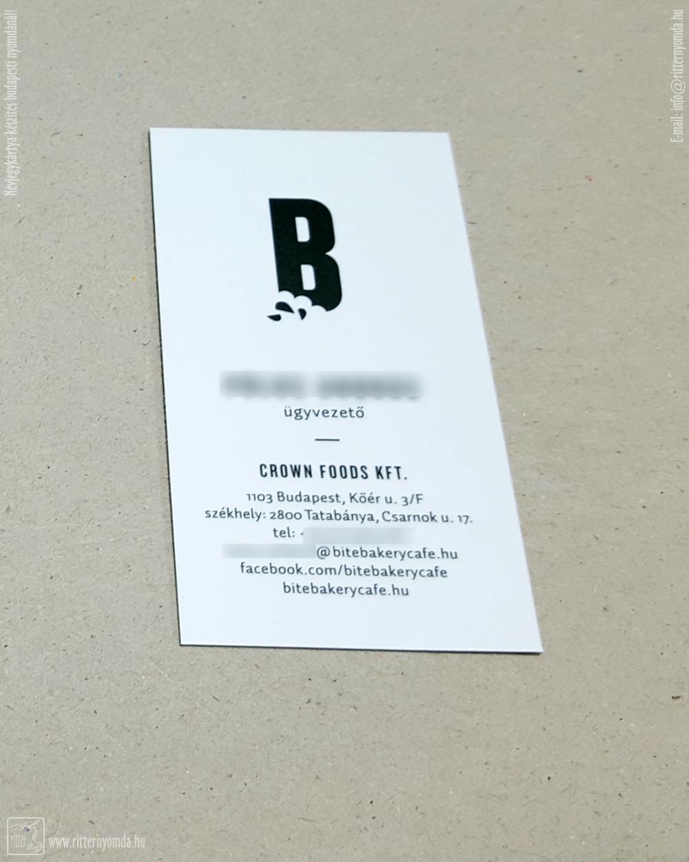 digital printing business cards