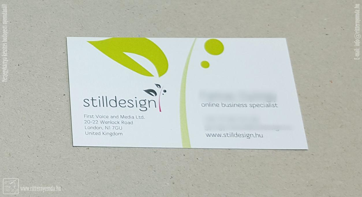 digital printing business card