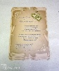 szitanyomás esküvői meghívó felülnyomása /r0026_4m-17131, régi papír design, rusztikus,