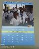 Ofszet nyomtatás fali naptár, afrika, spirálozva, akasztóval, a4