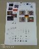 Digitális nyomtatás naptár, nemzetközi, falinaptár, spirálozva, hátlappal, a4
