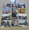hűtőmágnes, fénykép, családi, személyes, magáncélra, kasírozva
