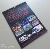 Digitális nyomtatás falinaptár , céges, virág, dekoráció, NPT-FFEK, 2014, naptár