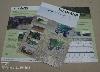 Digitális nyomtatás szórólap, mezőgazdaság, vontató, aratás, gép, szállítás