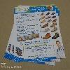 Ofszet nyomtatás szórólap, ortopédia, cipő, betét, lúdtalp, láb, a5