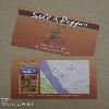 Digitális nyomtatás cégkártya, étterem, kávézó, restaurant, qr-kód, térkép