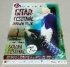 Offset print poster O - guitar, Festival