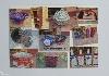 képeslap, kézműves, termékek, tradícionális, vesszőfonás